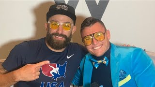 Michael Chiesa Tells Story Behind Khamzat Chimaev Face Off & Wrestling Daniel Cormier Last Night