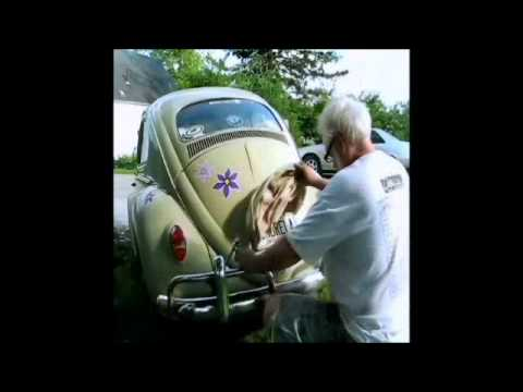 1964 VW Bug trunk lid adjustment