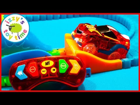 MAGIC TRACKS WITH A REMOTE CONTROL?! Cars for Kids! With GoPro!