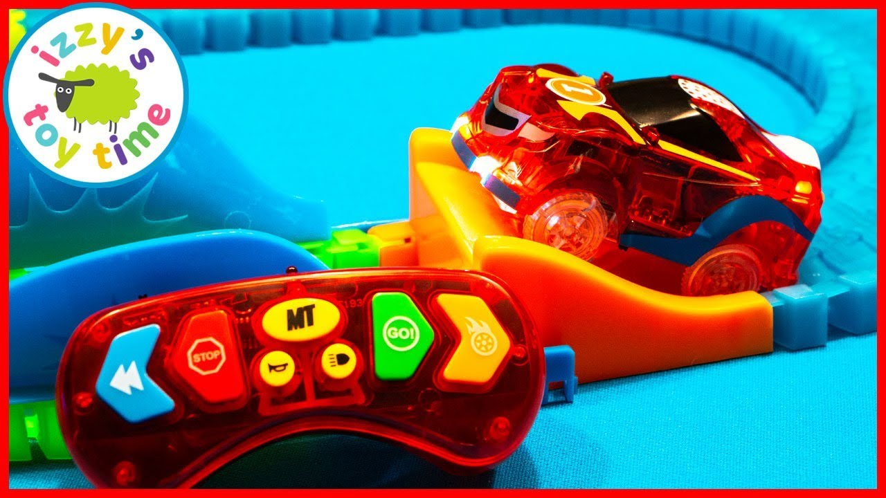 Magic Tracks With A Remote Control Cars For Kids With Gopro