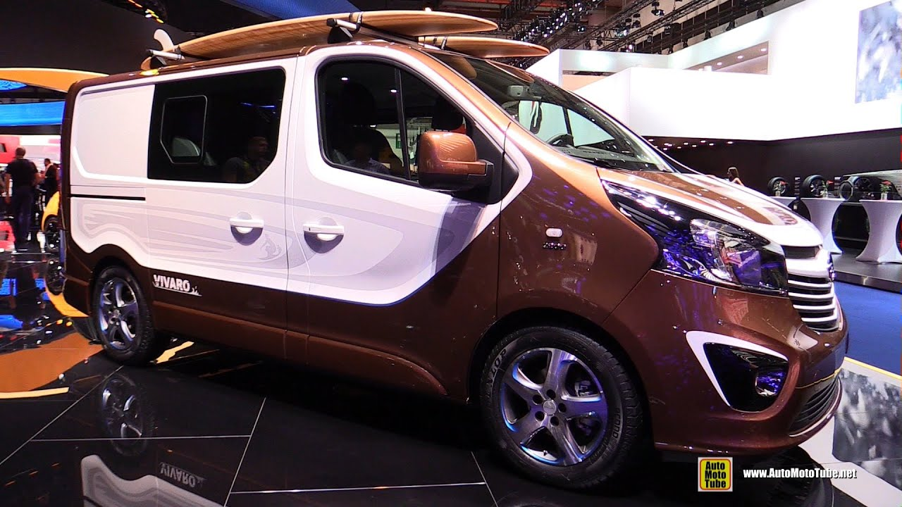 2016 opel vivaro surf concept vehicle exterior and for Where can i get a motor vehicle report