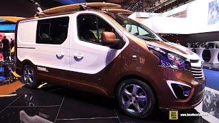 Vauxhall Vivaro Surf Concept 2016 Videos