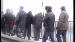 Живая цепь объединяет берега Днепра