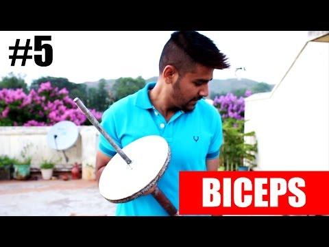 [Hindi] How to build Biceps at Home | Vlog #5 | SAGAR KI VANI
