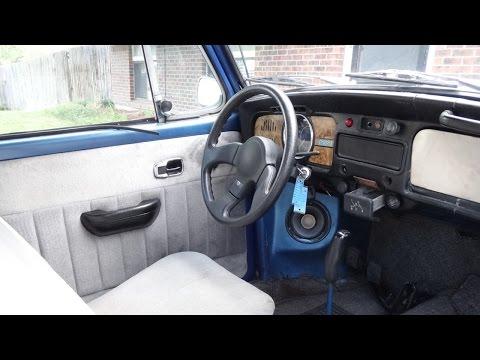 VW Bug Custom Steering Wheel