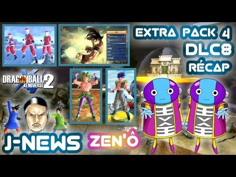 Dlc8 Tout le contenu de l'Extra Pack 4 Zen'ô sera sur DBXenoverse 2 [J-News]