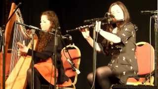 LOUISE & MICHELLE MULCAHY, THE 14TH GATHERING TRADITIONAL FESTIVAL, KILLARNEY 21.02.13