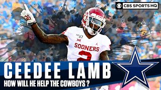 CeeDee Lamb Breakdown: How Will The Former Oklahoma WR Improve the Dallas Cowboys | CBS Sports HQ