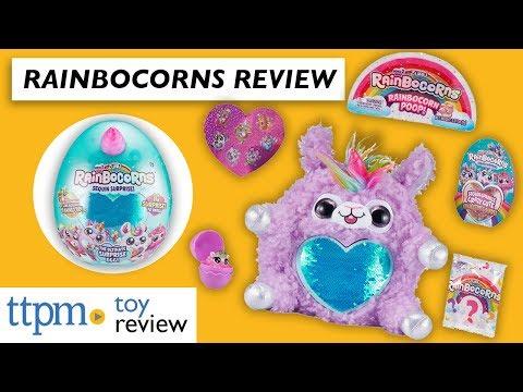 Rainbocorns Sequin Surprise Series 2 And Sparkle Heart Surprise From Zuru