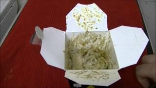 Cheap Munch: Thai Green Curry Noodle Box