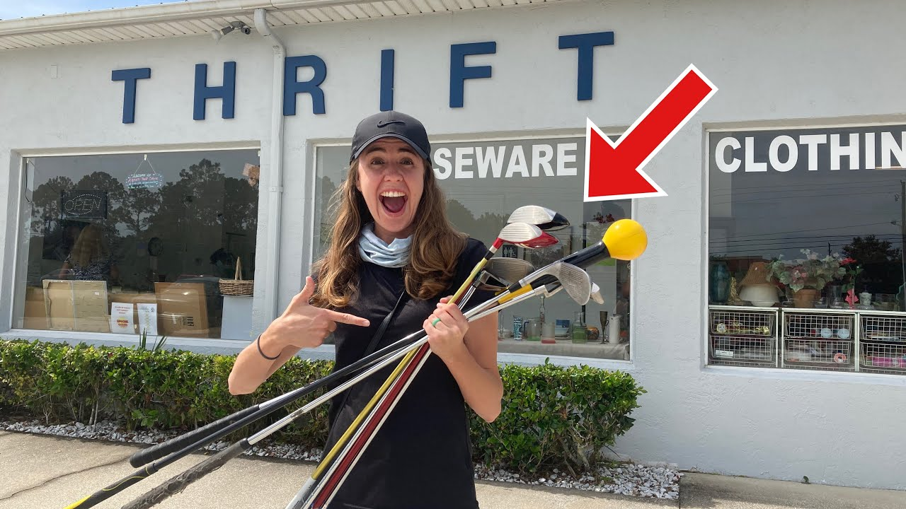 WE FINALLY FOUND THIS GOLF CLUB AT A THRIFT STORE!! (Only $1!!)