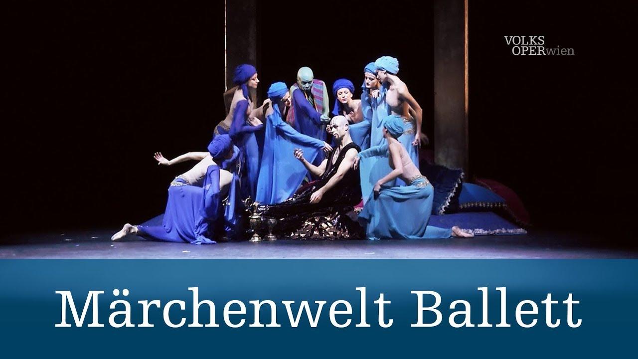 Bildergebnis für wiener volksoper märchenwelt ballett