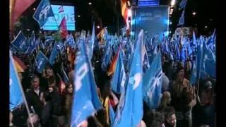 Celebración electoral en Génova