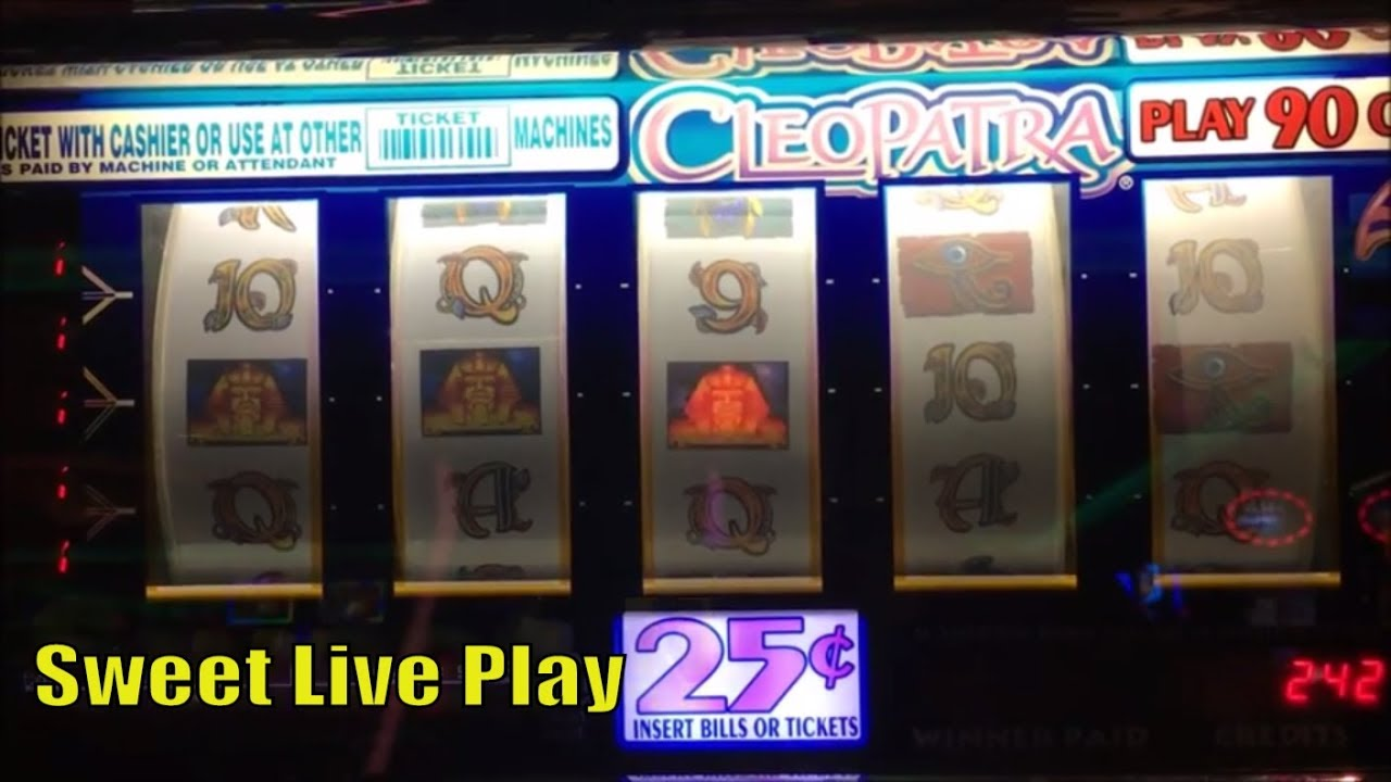 FREE PLAY Slot Live How Was Result On FPCLEOPATRA 9 LINE REEL 25Slot Machine 225