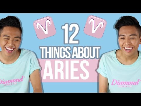 12 things YOU need to know about ARIES ♈