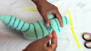 Sock Monkey Doll  part 2 of 2