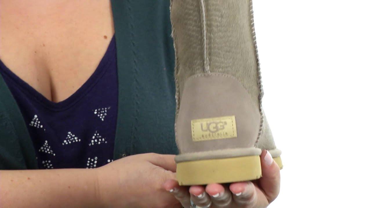 Ugg Classic Short Calf Hair Scales
