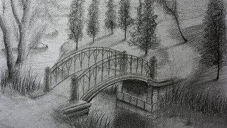 Como Dibujar Un Paisaje Con Lapiz