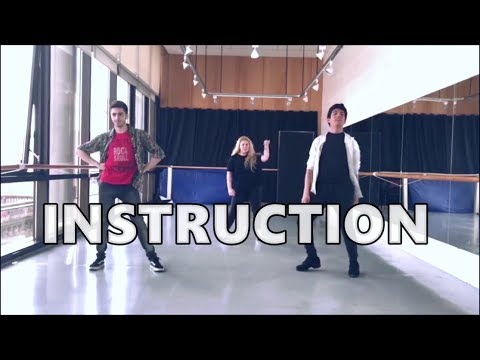 INSTRUCTION - Jax Jones ft Demi Lovato (Choreography)