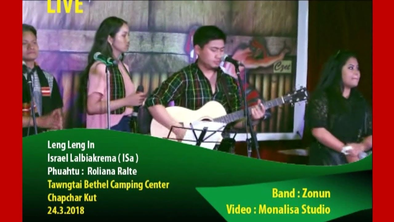 Israel Lalbiakrema (Is-a) - Leng Lengin (Live at TBCC, Chapchar Kut 2018)