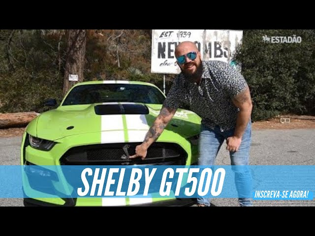 Mustang Shelby GT 500 2020: aceleramos o monstro mais potente da história da Ford