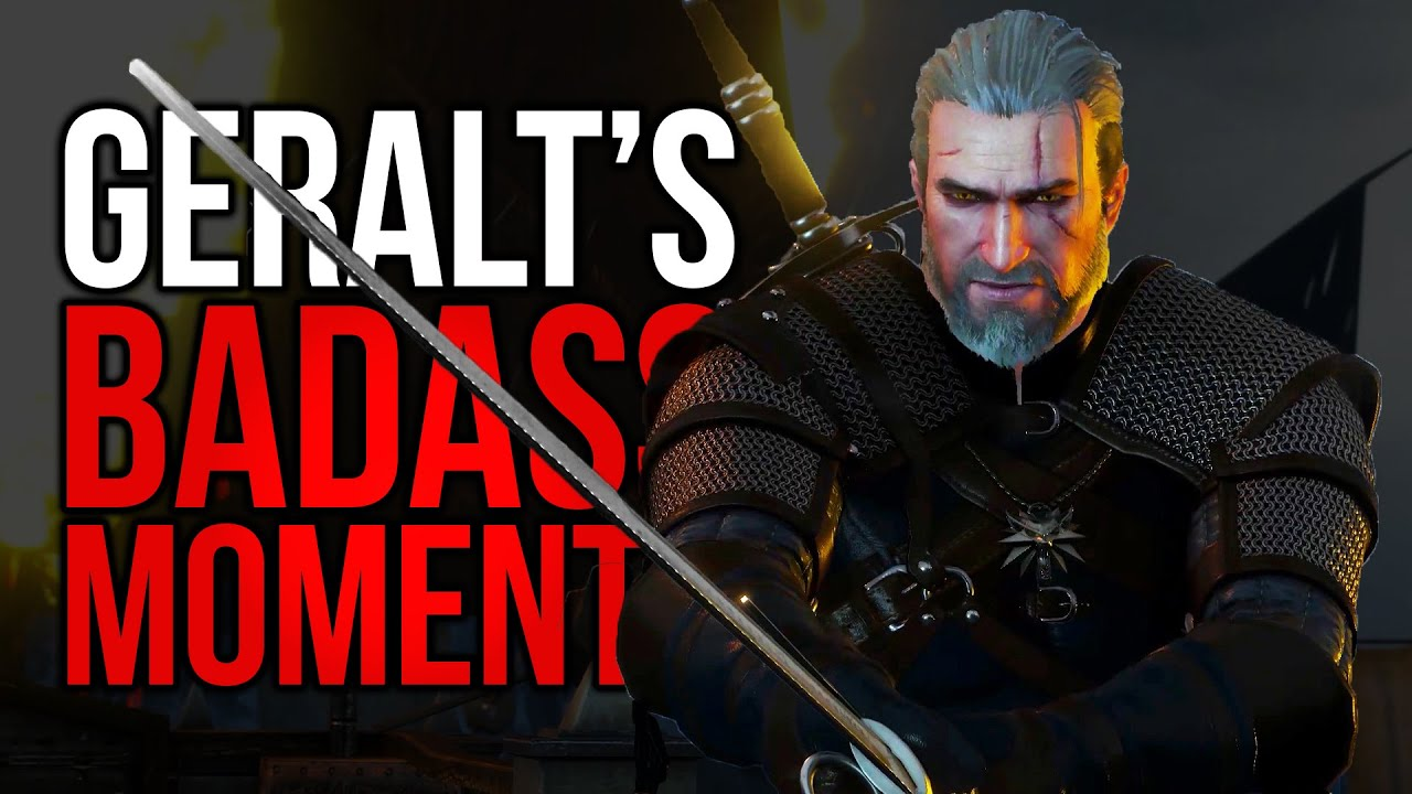Geralt's Top 5 Badass Moments (The Witcher) thumbnail