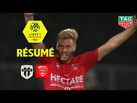 Angers SCO - Nîmes Olympique ( 3-4 ) - Résumé - (SCO - NIMES) / 2018-19