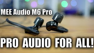 MEE Audio M6 Pro Review PART 1: Pro audio for the masses!