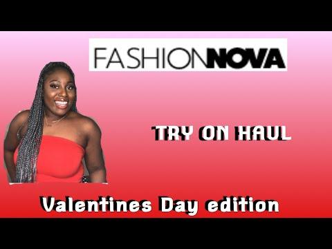 FASHION NOVA HAUL VALENTINE EDITION #HIDEYOURNIGGA Your Videos on VIRAL CHOP VIDEOS