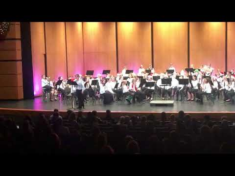 "Baldwin Street Middle School 7th Grade Band - ""Jingle Bell Rock"" 3 of 4"