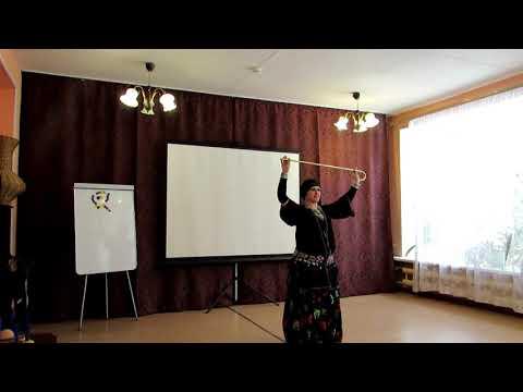Irina Koroleva танец с тросточкой