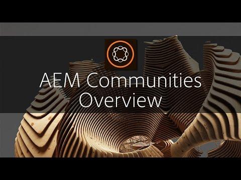 AEM Communities Overview