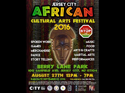 Jersey City African Cultural Arts Festival, August 27, 2016