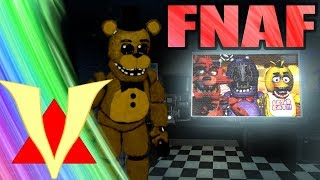 Scary PLAYABLE FNAF Horror Map in Gmod!! (Garry's Mod Five Nights At Freddy's)