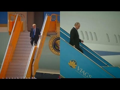 Apec summit: Trump defiant on trade as speculation mounts over possible meeting with Putin