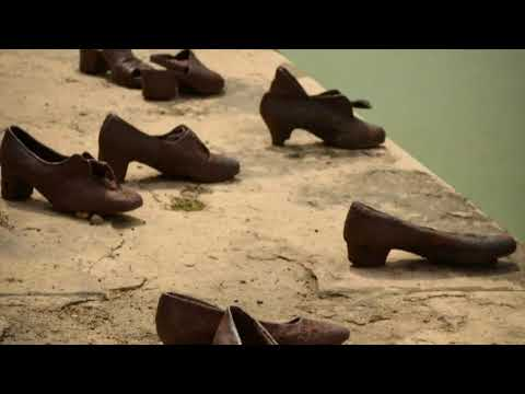 Why are the shoes on The Danube river - BUDAPEST