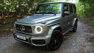 Off Road In The New Mercedes G-Wagon w/ Shmee150