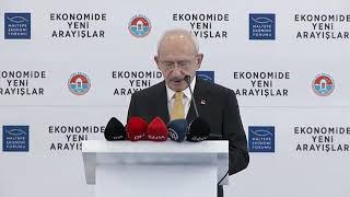 KEMAL KILIÇDAROĞLU MALTEPE EKONOMİ FORUMU  01/12/2019