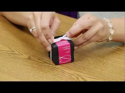DIY Wedding Favor Box