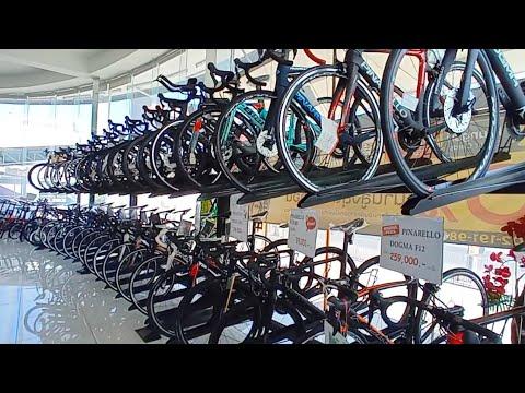 ์ใหม่จักรยาน เสือหมอบ เสือภูเขา เรียงเป็นตับๆ ที่ วี-เอส ไบค์ VS Bike ร้านจักรยานใหญ่ นนทบุรี มีครบ