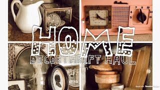 HOME DECOR THRIFT HAUL | AT HOME WITH JILLIAN