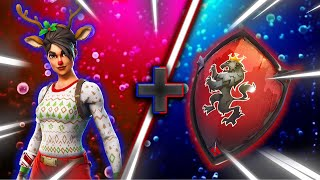 "Top 10 BEST ""RED NOSED RAIDER"" SKIN + BACK BLING COMBINATIONS in Fortnite"