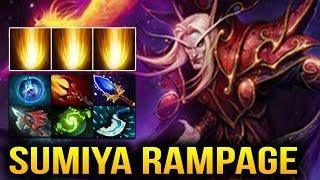 Sumiya Invoker Rampage Ending with ZERO DEATH 34 Kills Dota 2