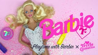 Playtime With Barbie: Trixie Cosmetics - Sprinkles & Lipstick Outfit Inspirations!