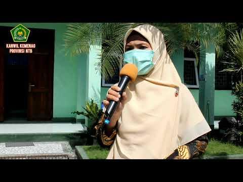 Peletakan Batu Pertama pada MTSN 1 Selong dan KUA Labuan Haji Kabupten Lombok Timur