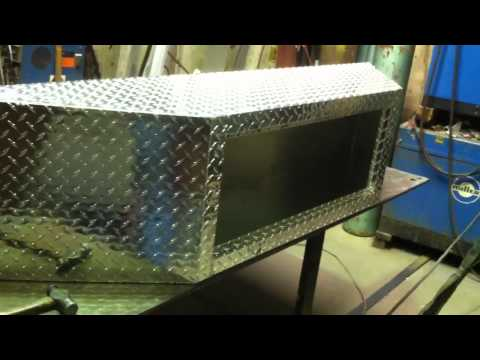 Diamond Plate Tool Box For Trailer