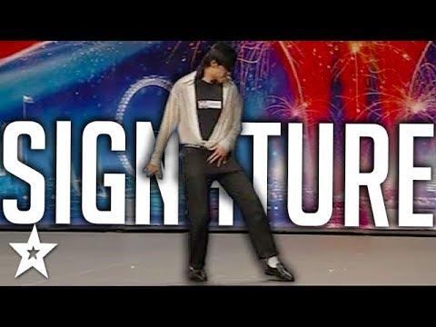 SIGNATURE 1st Audition   Michael Jackson   Britain's Got Talent   Got Talent Global