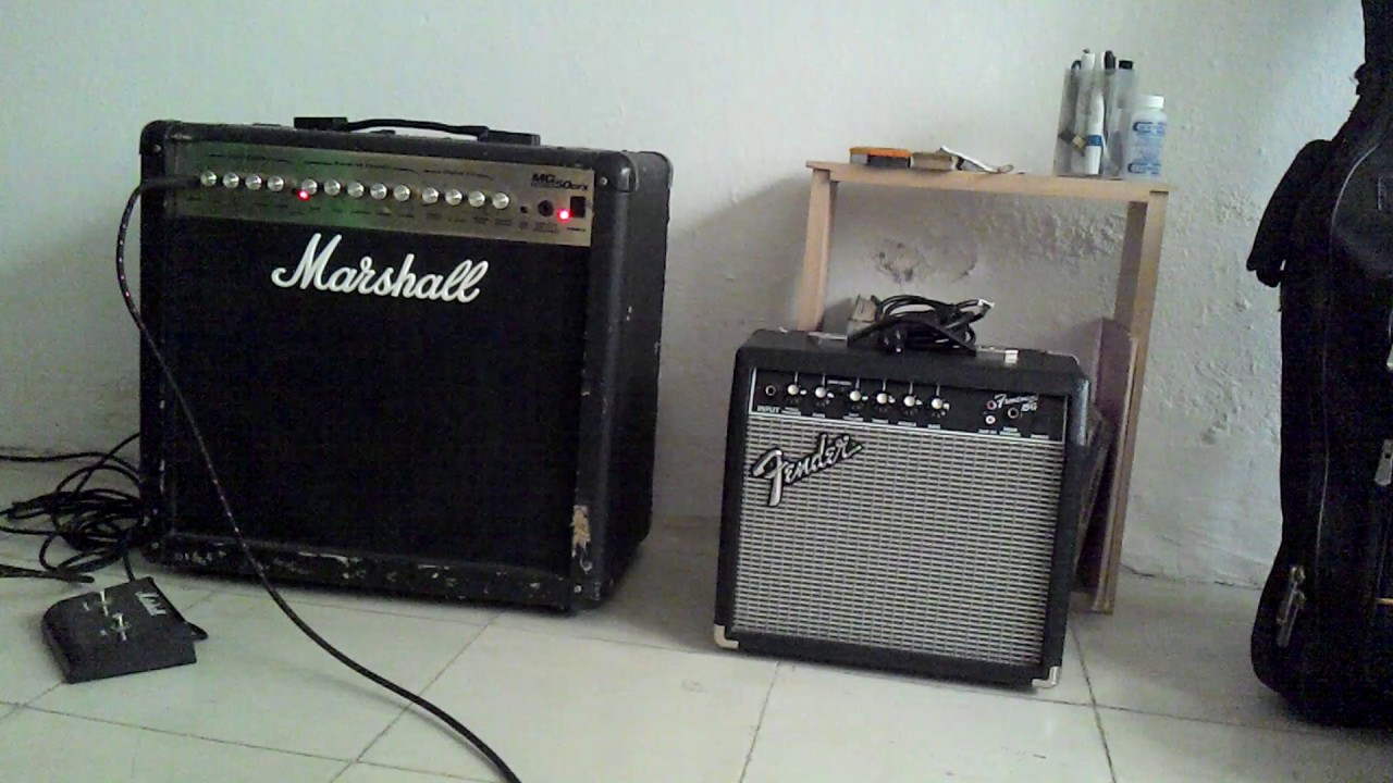 Welp marshall MG50dfx prueba - YouTube MD-56