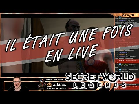 Il était une fois en Live : la release de SECRET WORLD LEGENDS !