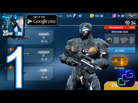 NOVA Legacy Android Walkthrough - Gameplay Part 1 - Colonial Pride Ship